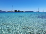 Boat tour to the Blue Lagoon and Trogir