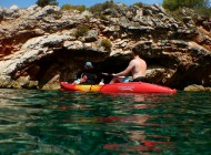 Split kayak adventure