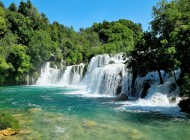 Tour to Krka Waterfalls, Sibenik and Primosten
